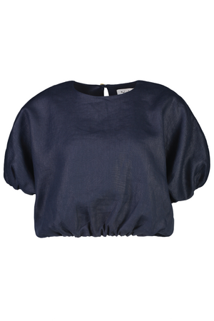 All Puffed Up Top in Indigo - hej hej