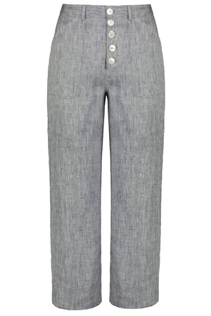 Fancy Pants in Chambray - hej hej