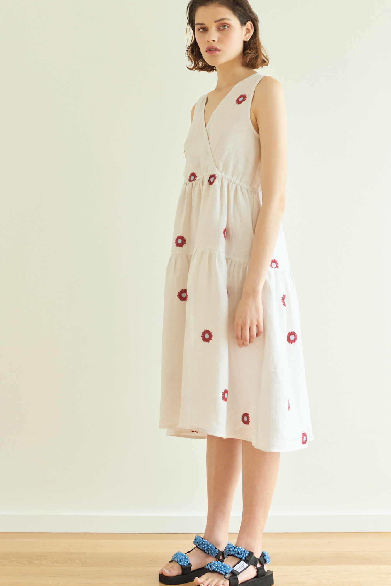BFF Dress in White Daisy - hej hej