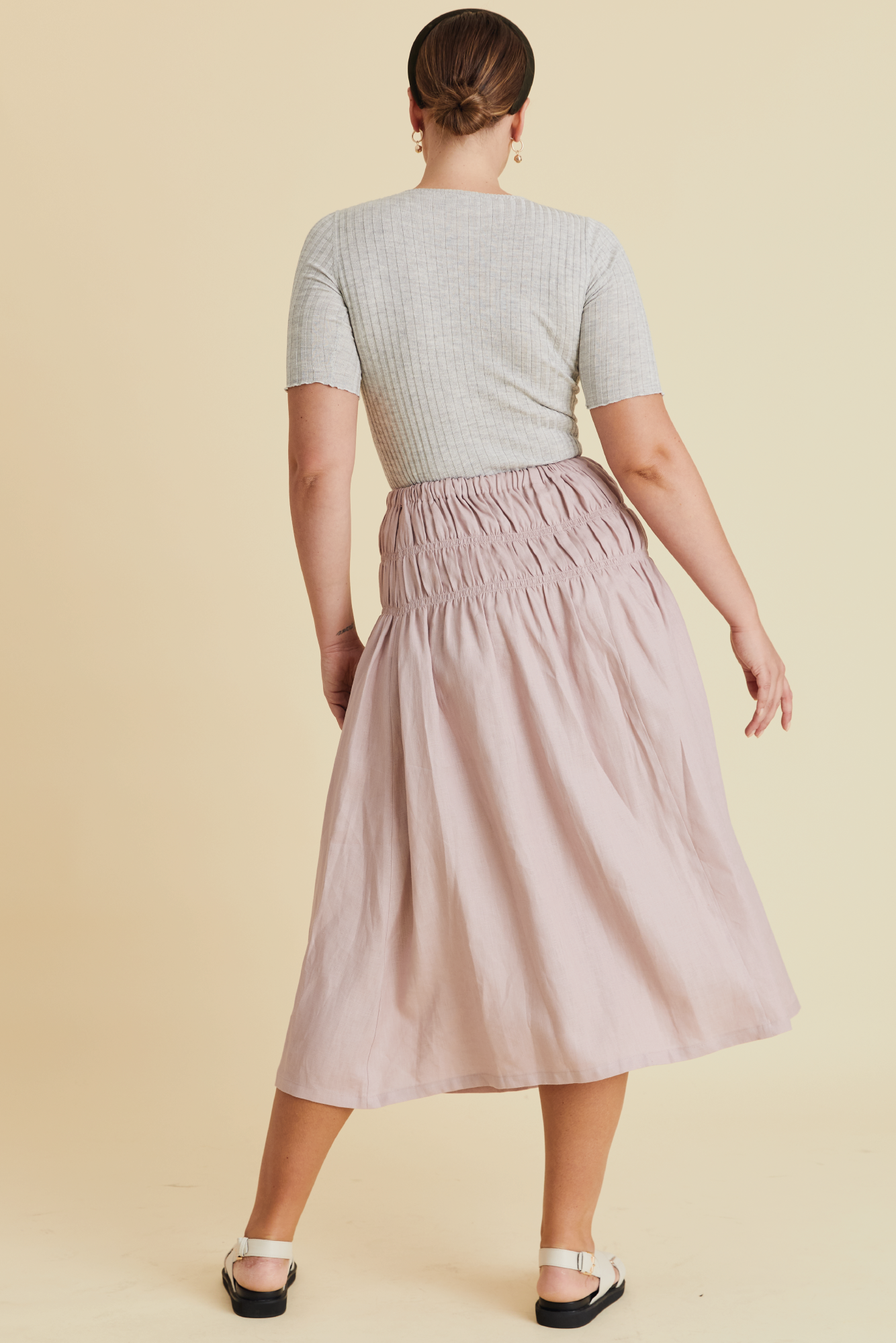 All For One Skirt in Marshmallow - hej hej