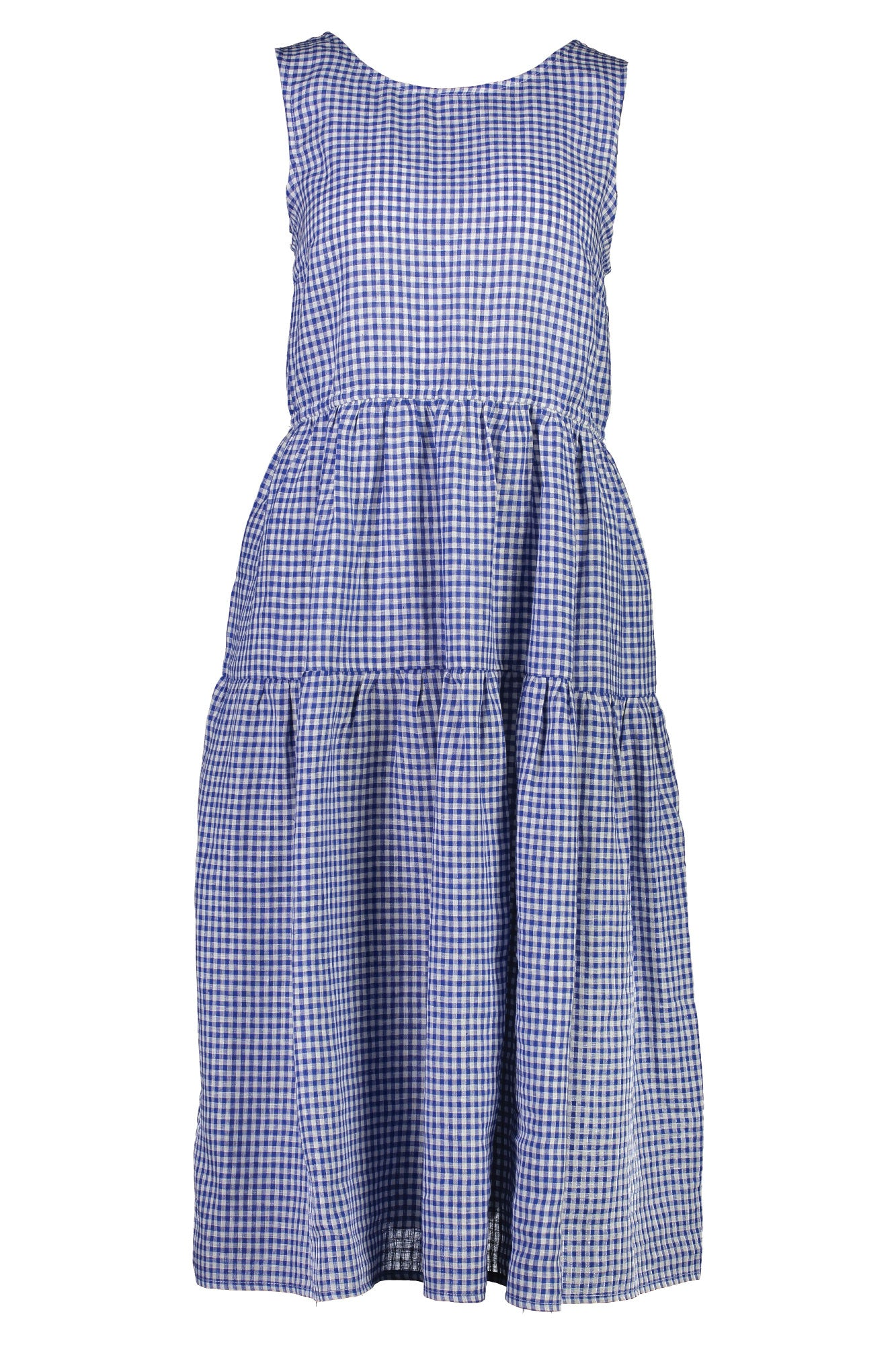 BFF Dress in Blue Gingham - hej hej