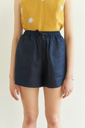 Pocket Rocket Shorts in Indigo - hej hej
