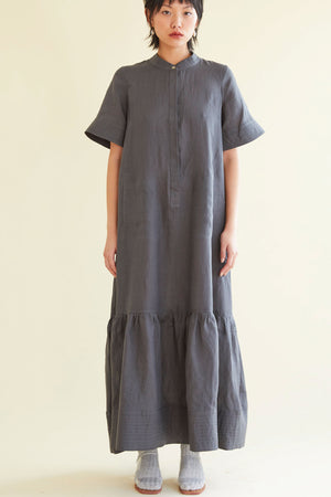 The Frolic Dress in Charcoal - hej hej