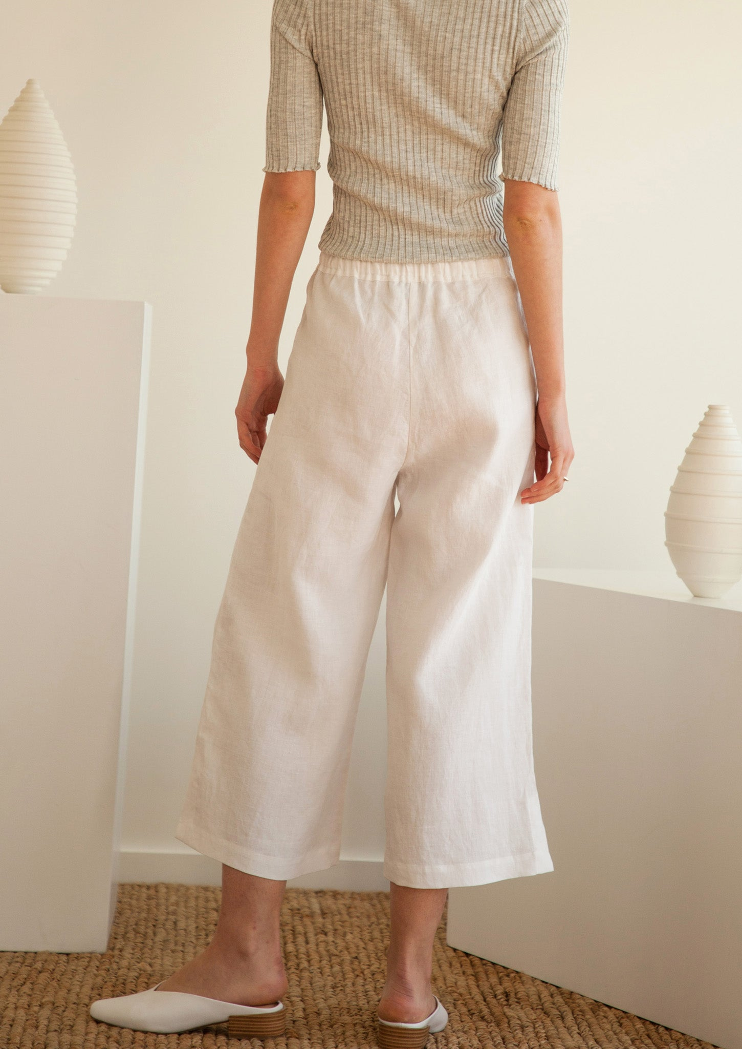Brunch Pants in White