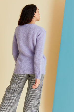 Moon Trooper Knit in Periwinkle - hej hej