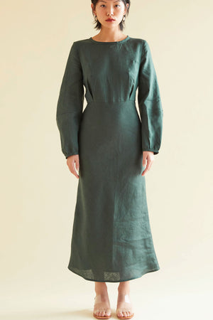 Sunday Best Dress in Forest - hej hej