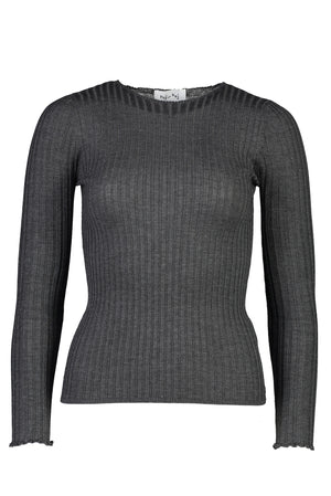 You've Gotta Be Kidman Knit in Charcoal - hej hej