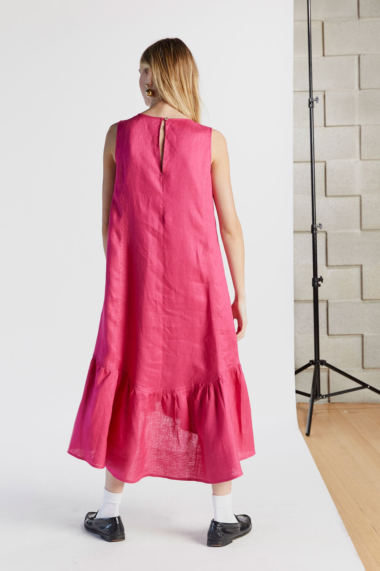 Mind Your Manners Milly Dress in Hot Pink - hej hej