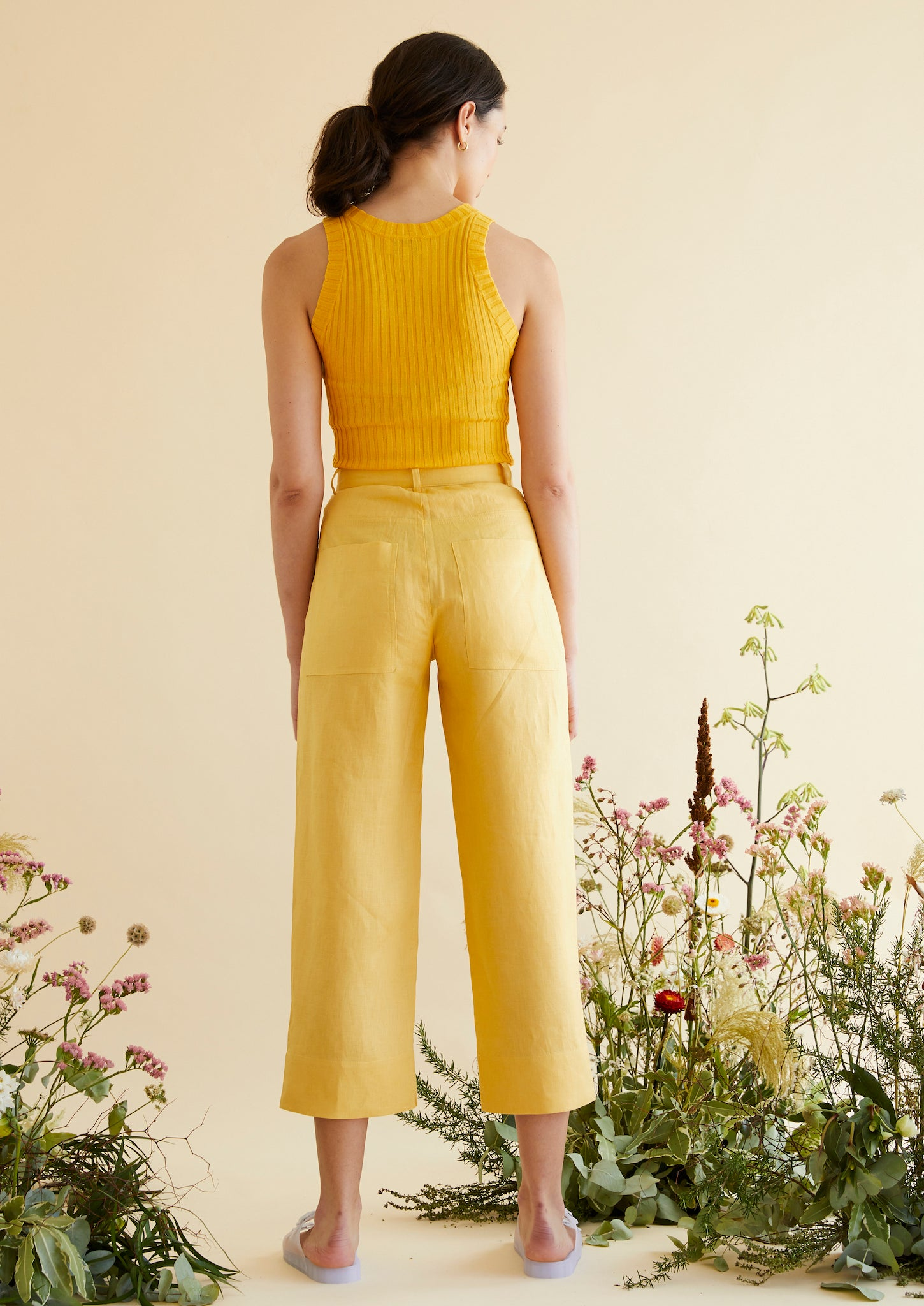 Fancy Pants in Sunflower - hej hej