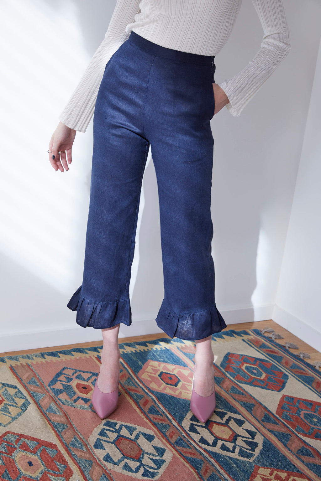 Yes Pants in Indigo