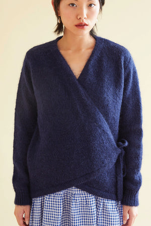 Moon Trooper Knit in Indigo - hej hej