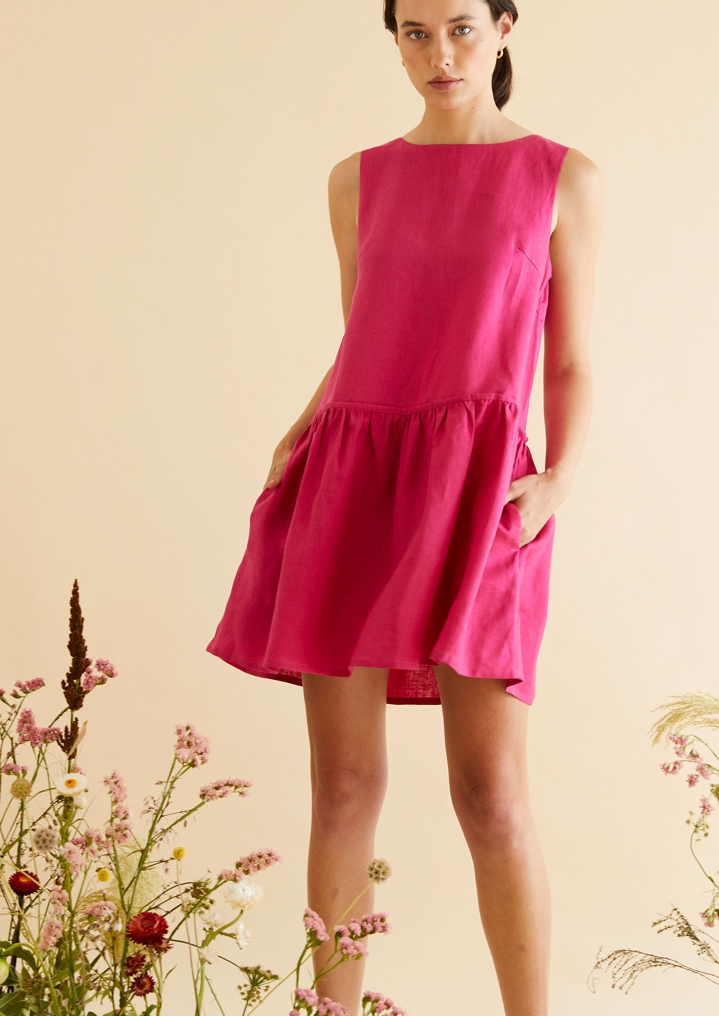 Ruffle Her Feathers in Hot Pink
