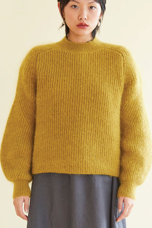 The Zepplin Knit in Marigold - hej hej