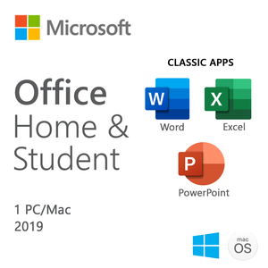 Microsoft Office Home and Student 2019 for Mac