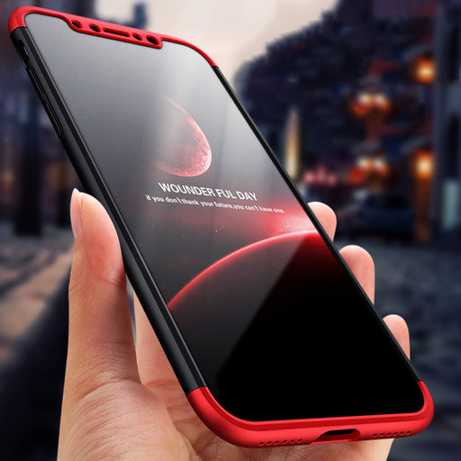 Shockproof  Cover Case For iPhone X 10 360 Degree 3in1