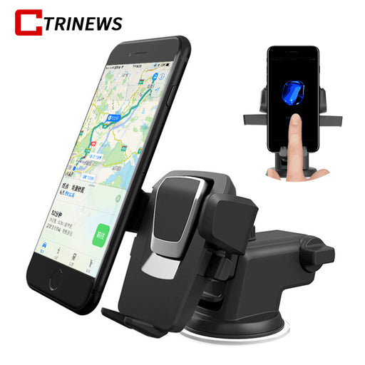 Universal Car Phone Holder Stand Dashboard Windshield  360 °