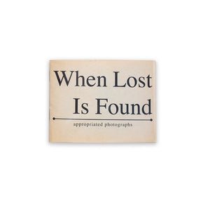 When Lost Is Found