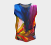 Paradise Loose Tank Top - Sunset (Long) - Vibrant Artz