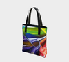 Labyrinth Tote Bag - Vibrant Artz