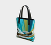 Mountain Tote Bag - Vibrant Artz