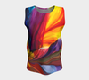 Paradise Loose Tank Top - Sunrise (Long) - Vibrant Artz