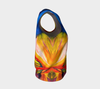 Paradise Loose Tank Top - Sunset (Regular) - Vibrant Artz