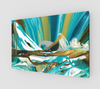 Rocky Mountain Reflection Canvas Print - Vibrant Artz