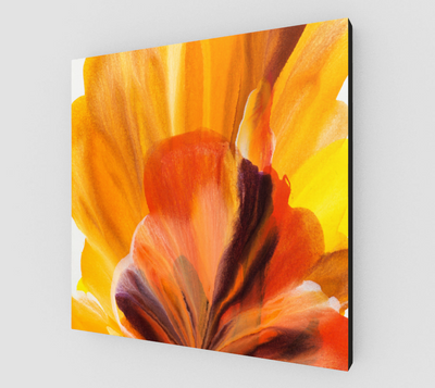 Golden Crown Canvas Print - Vibrant Artz