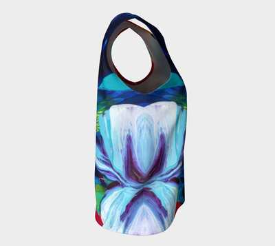 Quintessence Loose Tank Top (Long) - Vibrant Artz