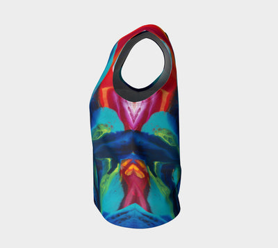 Quintessence Loose Tank Top (Regular) - Vibrant Artz