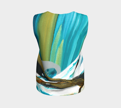 Mountain Loose Tank Top (Regular) - Vibrant Artz