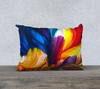 "Paradise 20"" x 14"" Pillow Case - Vibrant Artz"