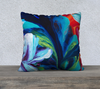 "Quintessence 22"" Pillow Case - Vibrant Artz"