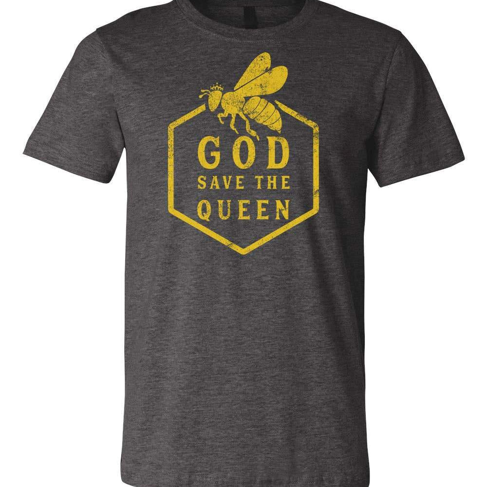 """God Save the Queen"" T-Shirt - Size Large"