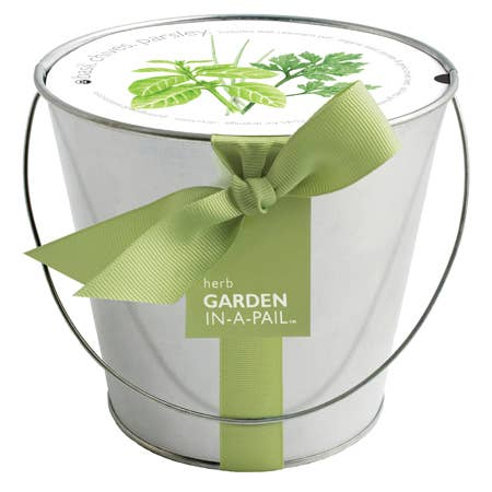 Potting Shed Creations, Ltd. - Garden in a Pail | Herb - Pen & Grey