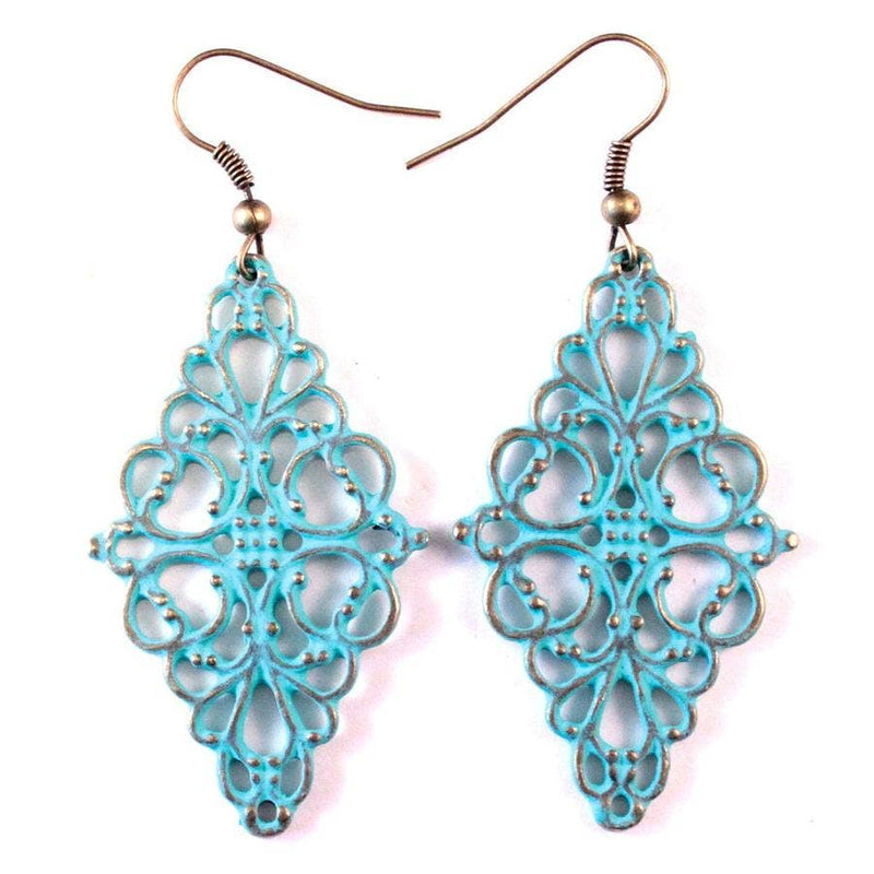 Gleeful Peacock - Serendipity Earrings