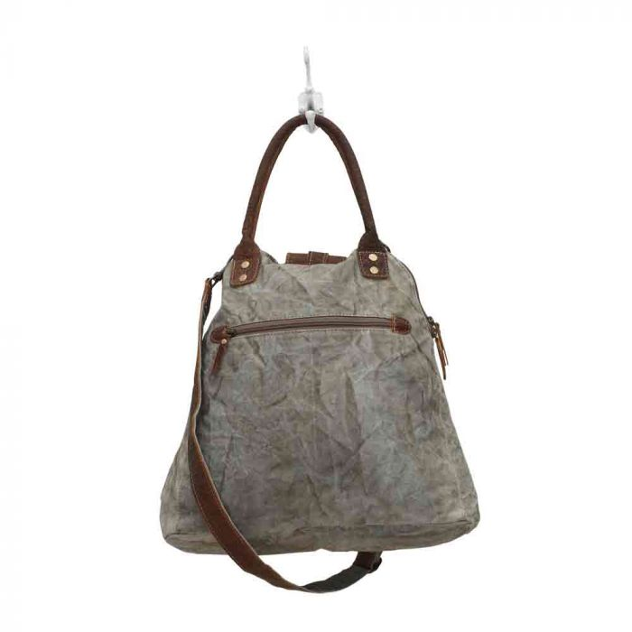 Myra - Gerster Shoulder Bag - Pen & Grey