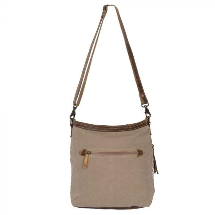 Myra - Blending Taste Shoulder Bag - Pen & Grey