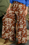 Brown Mix  Palazzo Pants
