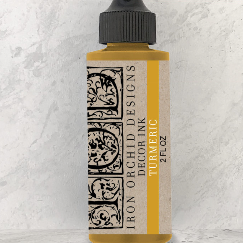 IOD Decor Ink - Turmeric 2oz. - Pen & Grey
