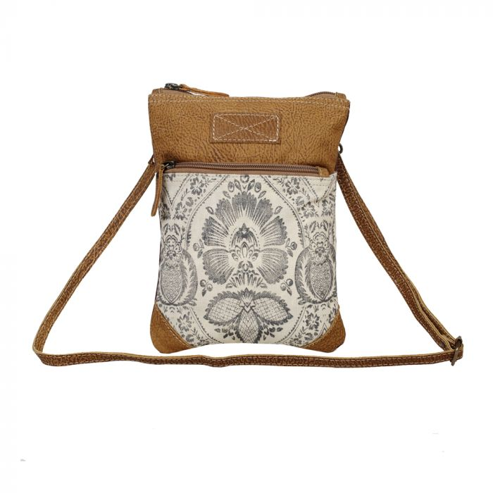 Myra - Soul Searcher Small & Crossbody Bag - Pen & Grey