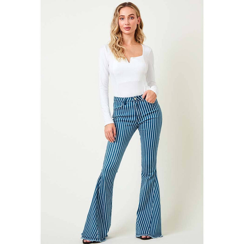 Saints & Hearts - SIP6106H DENIM STRIPES