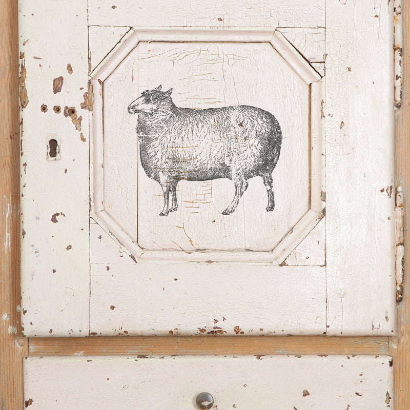 IOD Farm Animals - Pen & Grey
