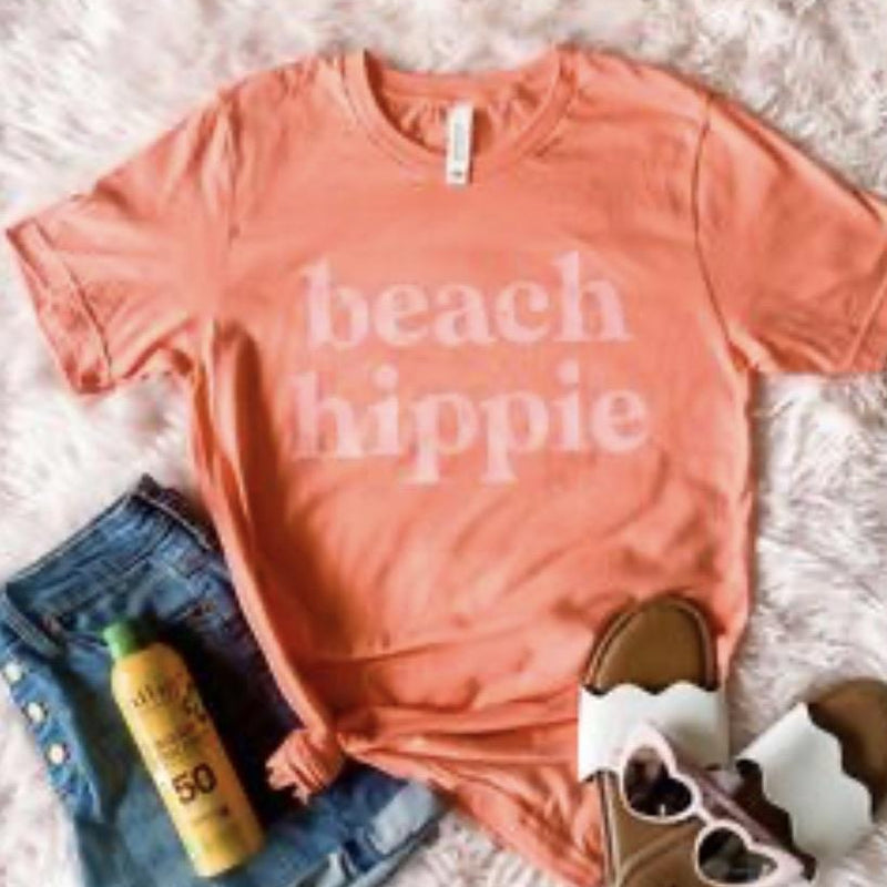 Beach Hippie - Pen & Grey