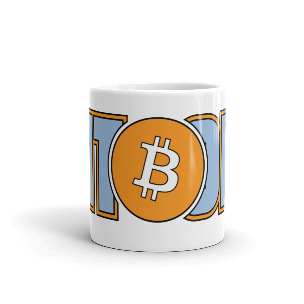 VAPORWEAR - Bitcoin Hero Coffee Mug