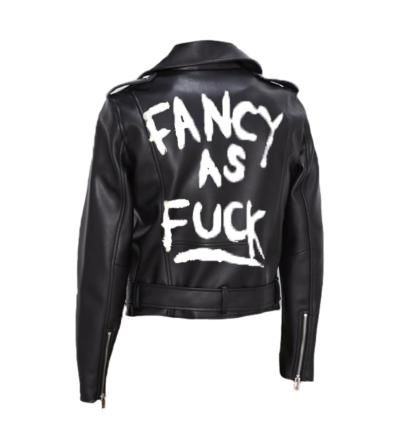"Hand Painted ""Fancy as Fuck"""