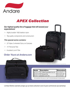 Andare APEX Collection 3 Piece Set