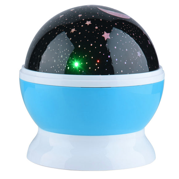 360 Degree Rotating Starry night light