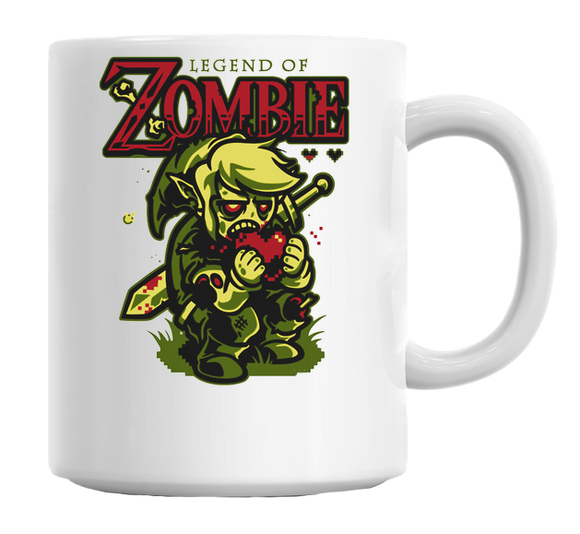 Legend of Zombie Mug