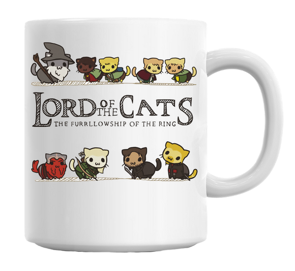 The Purrrlowship of the Ring Mug